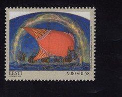 614180953 ESTLAND ESTONIA 2010 ** MNH  SCOTT 654 LENNUK BY NIKOLAI TRIIK - Estonie