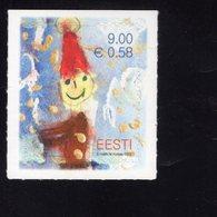 614181442 ESTLAND ESTONIA 2010 ** MNH  SCOTT 655 656 CHRISTMAS - Estonie