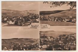 Sehmatal Neudorf - S/w Mehrbildkarte 3 - Sehmatal
