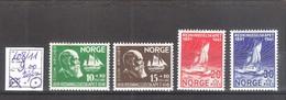 Norvège N° 208/11 * Charnière Légère Cote Yvert : 9,00 €. - Unused Stamps