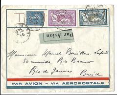 Lettre Par Avion - Via Aéropostale. Paris / Rio 1930. - France