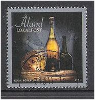 """Aland 2011 Fruit, Åland Apples, Variety """"Strömma"""", Mi 346-347, Used - Aland"""