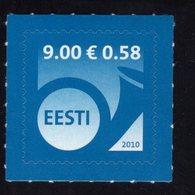 614182492 ESTLAND ESTONIA 2010 ** MNH  SCOTT 634 POSTHORN - Estonie