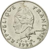 Monnaie, Nouvelle-Calédonie, 20 Francs, 1992, Paris, TTB, Nickel, KM:12 - New Caledonia