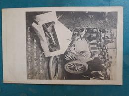 CPA - SPORT AUTOMOBILE - Course De Paris-Madrid (1903) - La Voiture De Mr LORRAINE-BARROW écrasée Contre Un Arbre à 1500 - Rally Racing