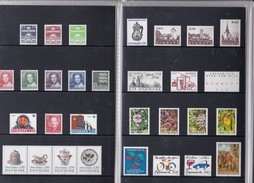 Denmark, 1990 Yearset, Mint In Folder, 2 Scans. - Dänemark