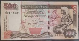 SRI LANKA 2005 Banknote 500 Rupees UNC - Sri Lanka