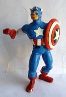 FIGURINE  - MARVEL - Captain America - COMIC SPAIN 1987 - Maxi (Kinder-)