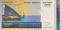 Madagascar 5.000 Ariary, P-84 (2003) - UNC - Madagaskar