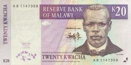 Malawi 20 Kwacha, P-38b (1.7.1997) - UNC - Malawi