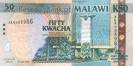 Malawi 50 Kwacha, P-49 (6.7.2004) - Indipendence Banknote - UNC - Malawi