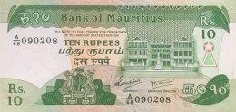 Mauritius 10 Rupees, P-35b (1985) - UNC - Mauritius