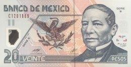 Mexico 20 Pesos, P-116a Serie B (2001) - UNC - Mexiko
