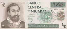 Nicaragua 1/2 Cordoba, P-172 (1992) - UNC - Nicaragua