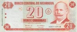 Nicaragua 20 Cordobas, P-192 (2002) - UNC - Nicaragua