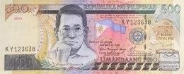 Philippines 500 Piso, P-196a (2003) - UNC - Philippinen