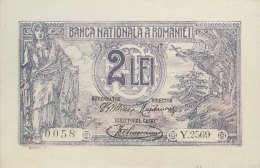 Romania 2 Lei, P-27a (17.7.1920) - UNC - Rumänien