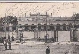 Cp , TRANSPORTS , LE MANS , La Gare - Stazioni Senza Treni