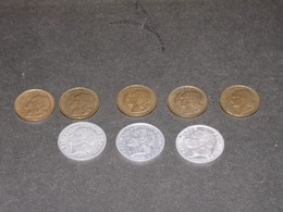 REPUBLIQUE FRANCAISE  - 5 Pièces De 50 FRANCS + 3 Pièces De 5 Francs - Francia