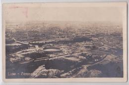 LIMA - Panorama Photo Postcard 1922 - Pérou
