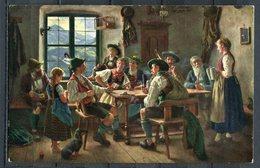 "CPSM Color FRG Künstlerkarte German Empires,DR Malerei ""Emil Rau-Der Hauptgewinn ""1 AK Blanco - Peintures & Tableaux"