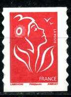 ADHESIF N° 49 MARIANNE DE LAMOUCHE TYPE I ISSUE DE CARNET NEUF ** - 2004-08 Marianne De Lamouche