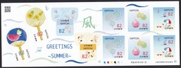(ja1128) Japan 2018 Greetings Summer 82y MNH - 1989-... Imperatore Akihito (Periodo Heisei)