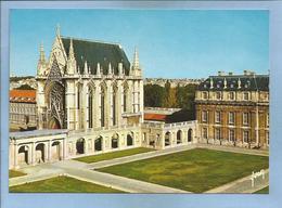 Vincennes (94) La Sainte Chapelle & Pavillon De La Reine Commencée Par Charles V Terminée Sous Henri II 2scans 1982 - Vincennes