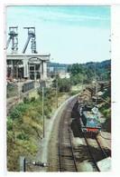 CPSM-TRAIN DE MINERAI SUR L'ARTERE NORD-EST ELECTRIFIEE EN  25 KV 50hz-LA VIE DU RAIL- - Eisenbahnen