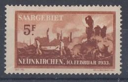 Saargebiet Minr.170 Mit Falz - 1920-35 Saargebiet – Abstimmungsgebiet