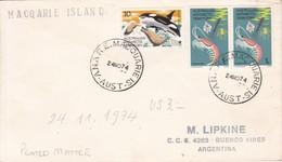 AUSTRALIAN ANTARCTIC TERRITORY. MACQARIE ISLAND 1974- BLEUP - Australisch Antarctisch Territorium (AAT)