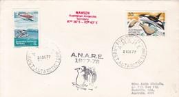 MAWSON. AUSTRALIAN ANTARCTIC TERRITORY. 1977- BLEUP - Australisch Antarctisch Territorium (AAT)