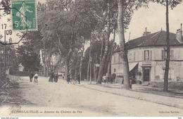 77 . Seine Et Marne .  Combs La Ville .avenue Du Chemin De Fer . - Combs La Ville