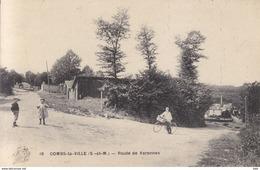 77 . Seine Et Marne .  Combs La Ville . Route De Varennes . - Combs La Ville