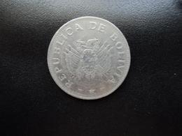 BOLIVIE : 1 BOLIVIANO  1995   KM 205    SUP - Bolivia