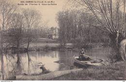 77 . Seine Et Marne .  Combs La Ville . Bords  De L ' Yerres A Vaux La Reine . - Combs La Ville