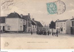 77 . Seine Et Marne .  Combs La Ville . Place De La Poste . - Combs La Ville
