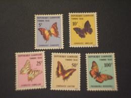 GABON - TASSE - 1978 FARFALLE  4 VALORI - NUOVI(++) - Gabon (1960-...)