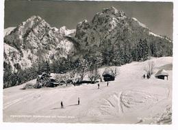 .D-8594   BERCHTESGADEN : Alpenwirtschaft Vorderbrand Mit Hohen Brett - Berchtesgaden