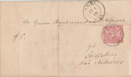 NDP Brief EF Minr.16 K2 Werl 17.3.69 - Norddeutscher Postbezirk