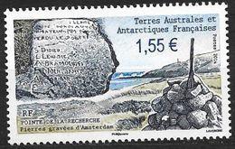 TAAF 2014 N° 692 Neuf Pierres Gravées - Nuevos