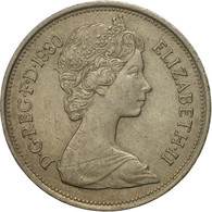 Monnaie, Grande-Bretagne, Elizabeth II, 10 New Pence, 1980, TB+, Copper-nickel - 1971-… : Monnaies Décimales