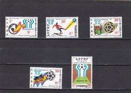 Etiopia Nº 889 Al 893 - Etiopía
