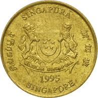 Monnaie, Singapour, 5 Cents, 1995, Singapore Mint, TB+, Aluminum-Bronze, KM:99 - Singapour