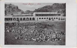 YEMEN - ADEN : CAMEL MARKET Marché Aux Chameaux / Kamelmarkt / Mercato Dei Cammelli / Mercado De Camelos - CPA - Yémen