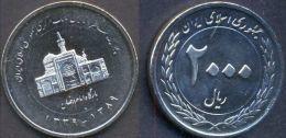 Iran 2000 Rials 2010 (1389) UNC Commemorative Coin - Iran