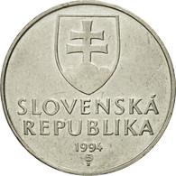 Monnaie, Slovaquie, 2 Koruna, 1994, TB+, Nickel Plated Steel, KM:13 - Slovaquie