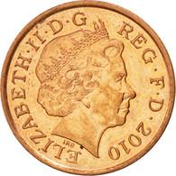 Monnaie, Grande-Bretagne, Elizabeth II, Penny, 2010, TTB+, Copper Plated Steel - 1971-… : Monnaies Décimales