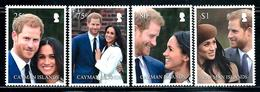 """Cayman Islands    """"The Royal Wedding Of The Duke & Duchess 0f Sussex""""    Set    (new Issue July-18-2018   MNH - Cayman Islands"""