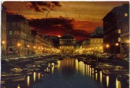 Trieste - Chiesa Di S.antonio E Canale - Formato Grande Viaggiata Mancante Di Affrancatura – E 7 - Trieste